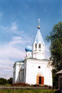 Церковь св. Георгия Победоносца в с. Минцы