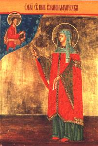 икона праведной Иулиании Муромской