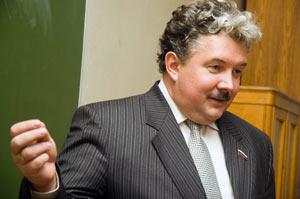 С.Н.Бабурин на Вмзантистском клубе