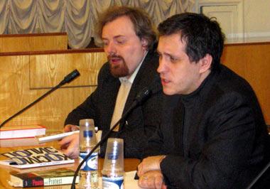 Борис Межуев и Егор Холмогоров
