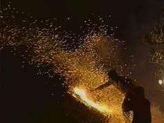 Греческий пасхальный фейерверк // фото: Первый канал