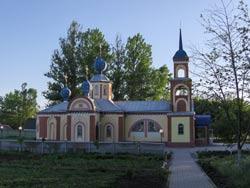 Храм св. равноапостольного великого князя Владимира в поселке Разумное