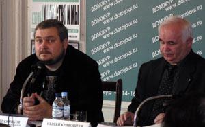 Илья Бражников и Сергей Кривошеев