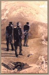 Иллюстрация к роману М.Ю.Лермонтова «Герой нашего времени»