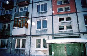 Дом, где живет Валентина Михайловна