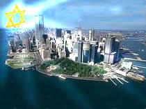 Рассвет над Нью-Йорком