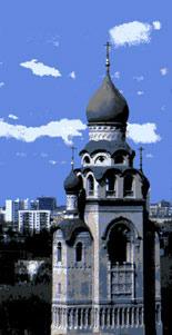 Воскресенский (ныне Успенский) храм-колокольня на Рогожском кладбище
