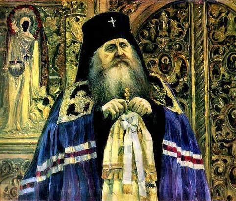 М.В. Нестеров. Портрет владыки Антония (Храповицкого)