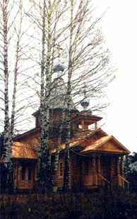 Храм в с.Владимирское Нижегородской области