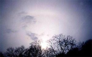 Явление радуги вокруг Солнца