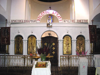 Интерьер Сухумского кафедрального собора