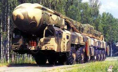 """Ракетный комплекс стратегического назначения """"Тополь"""""""