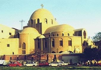 Коптский храм в Каире