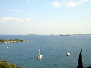 о.Корфу в Ионическом море