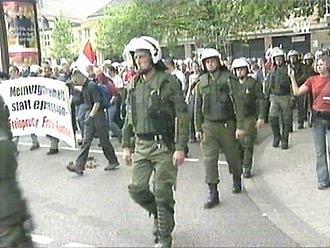 Протест против суда над Ф.Реннике