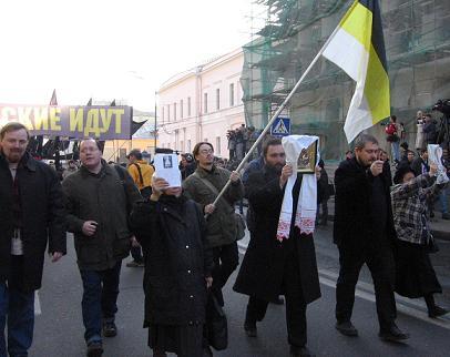 """Во главе """"Правого марша"""" — православные патриоты"""