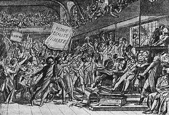 """""""Свободы. Равенства. Братства"""" требовала в 1789 году французская интеллигенция"""