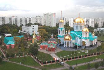 Проект храма во имя Собора Московских святых