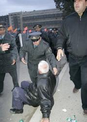 Полиция не применяла силы против оппозиционеров