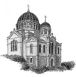 Русский храм в Биарицце