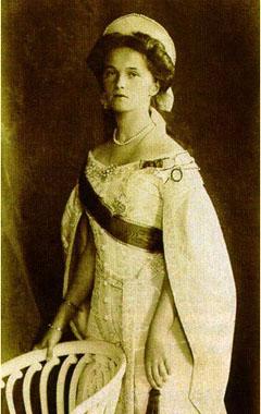 мученица Ольга — старшая дочь