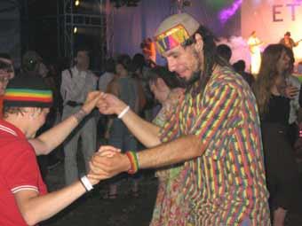 Представители же «детей мира сего» на фестивале составляли едва ли не большую часть гостей