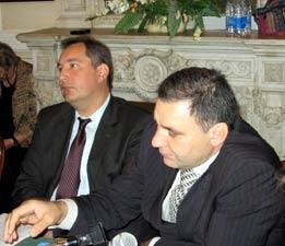 Дмитрий Рогозин и Беслан Гантамиров. Чеченцы за кадром