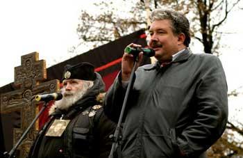 Выступление Сергея Бабурина на Правом марше
